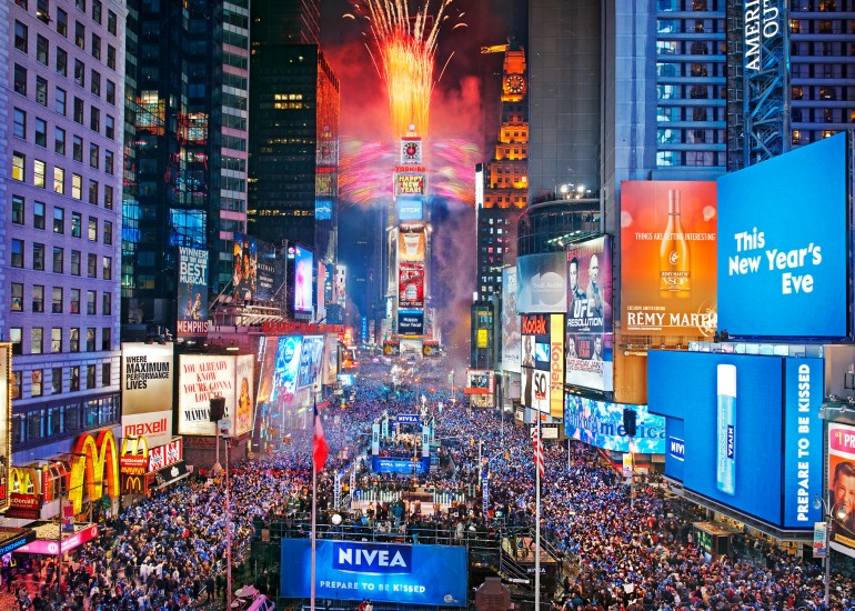 Times Square, New York, New Year