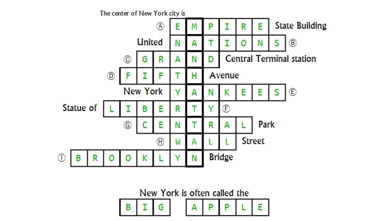 Unit 1 Puzzle answer