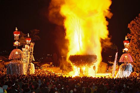 Beltane, bonfire