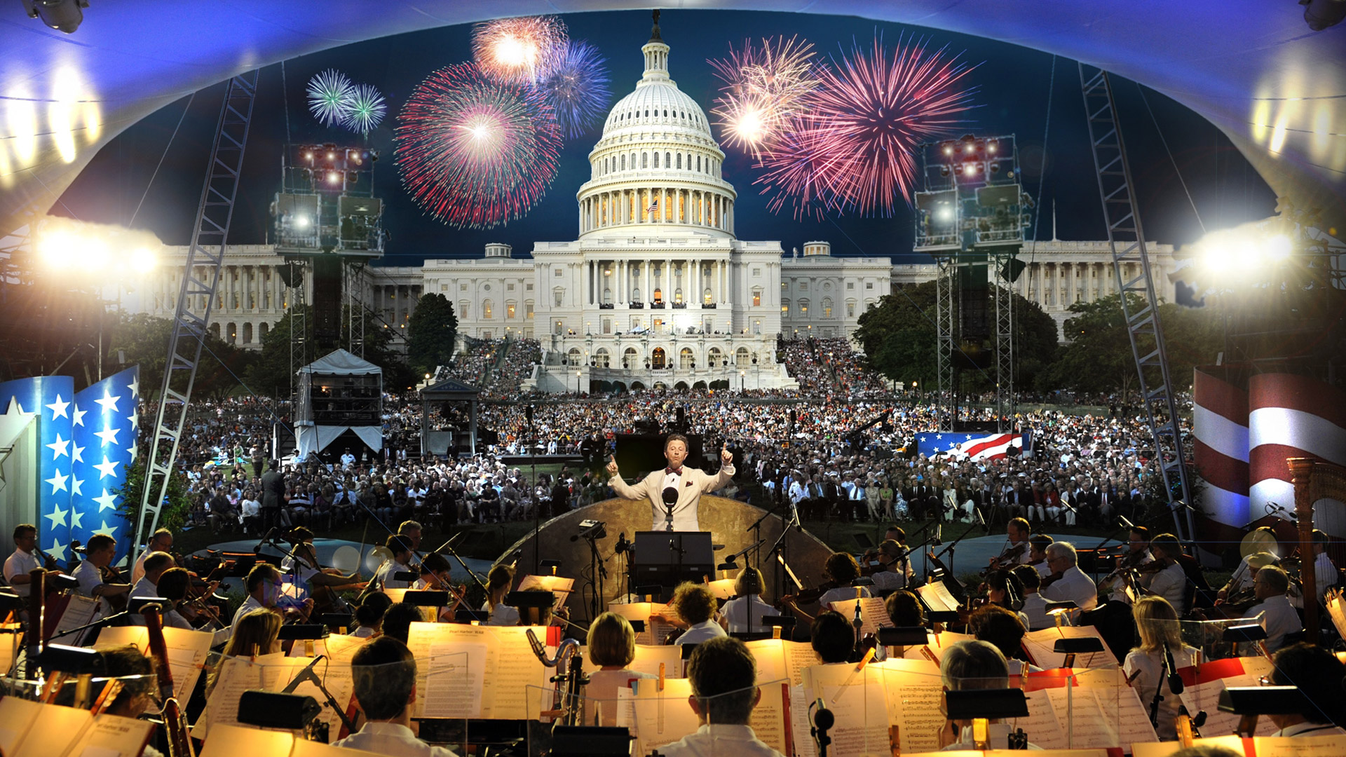 Capitol 4th of July concert, Washington DC, USA