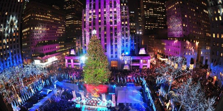 Christmas Tree, Rockefeller Center, New York