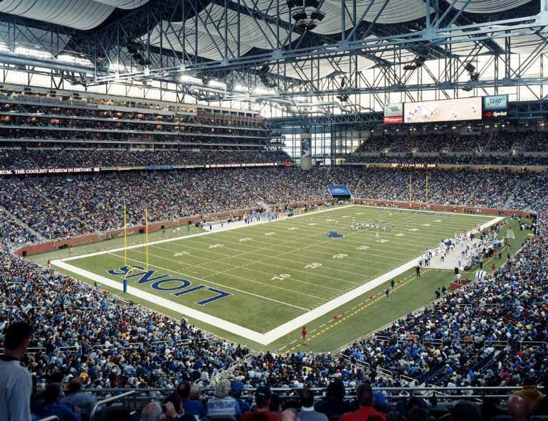 Detroit Lions, Ford Field, Detroit, USA
