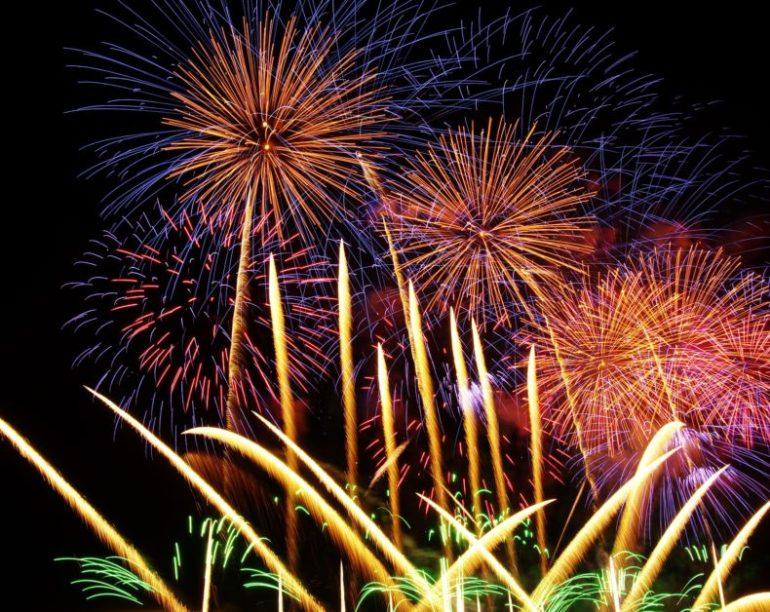 Fireworks Night, 5th November, Buckinghamshire, UK