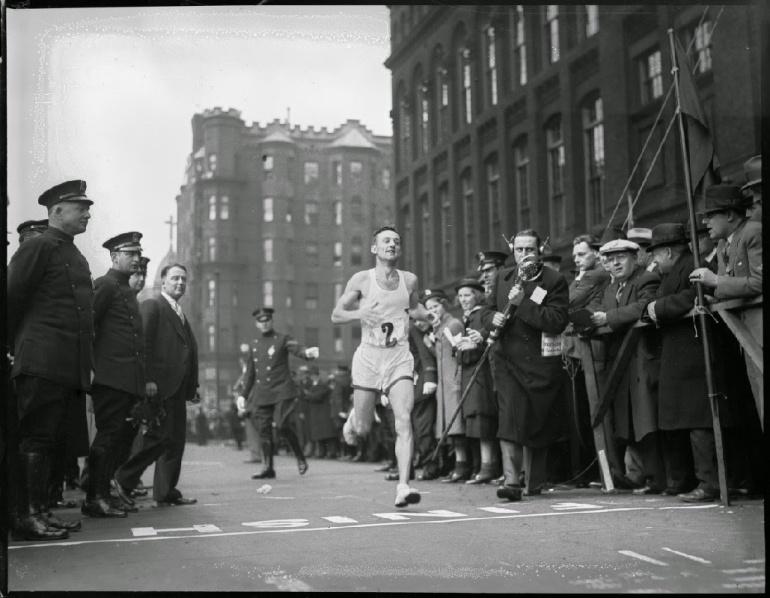 Johnny Kelley, Boston marathon 1935