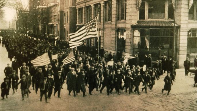 Labor Day, nr Boston, USA, 1912