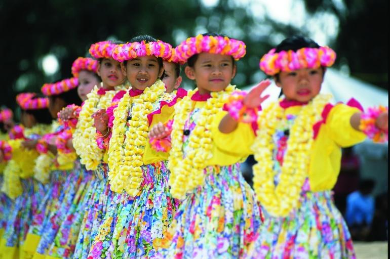 Lei Day, Hawaii, USA