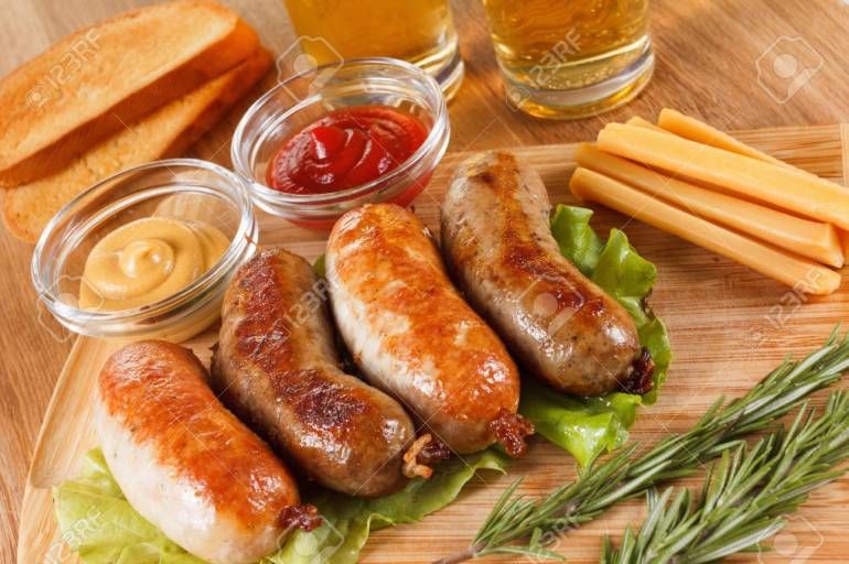 Oktoberfest sausages