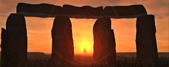 Stonehenge midsummer sunrise