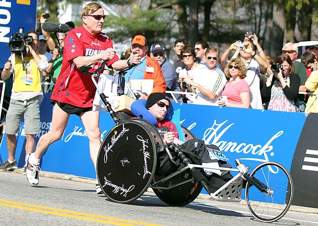 Team Hoyt, Boston Marathon, 2014
