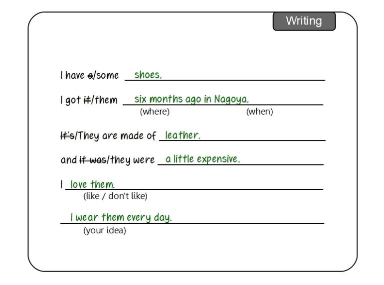 Unit 5 Writing sample answer