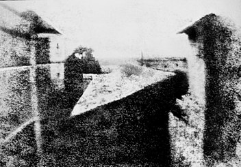 First photograph, Chalon, France