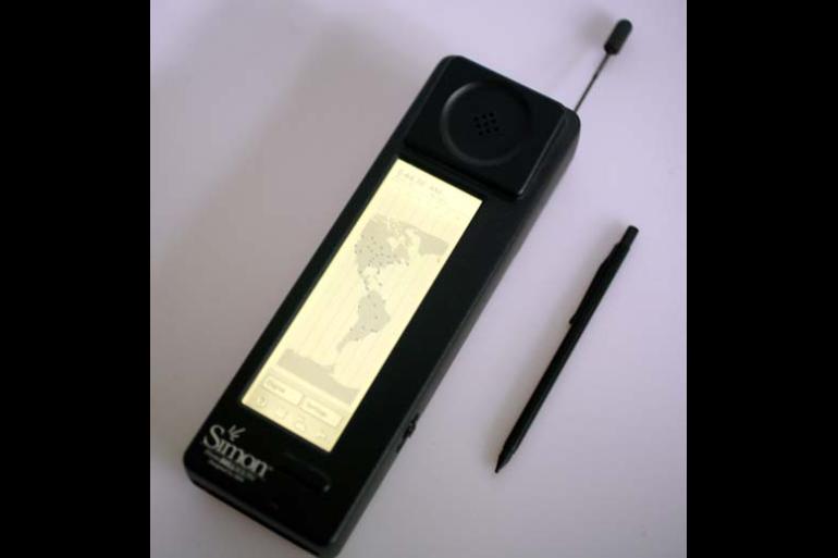 First smartphone, IBM Simon