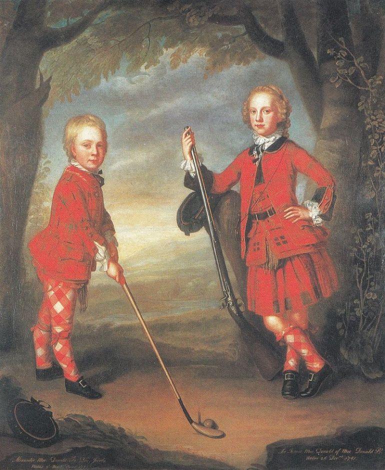 Golf in Scotland (18th century)
