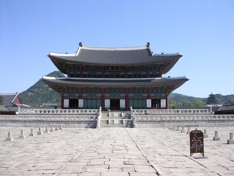 Gyeongbuk Palace, Seoul, Korea