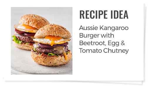Kangaroo burger