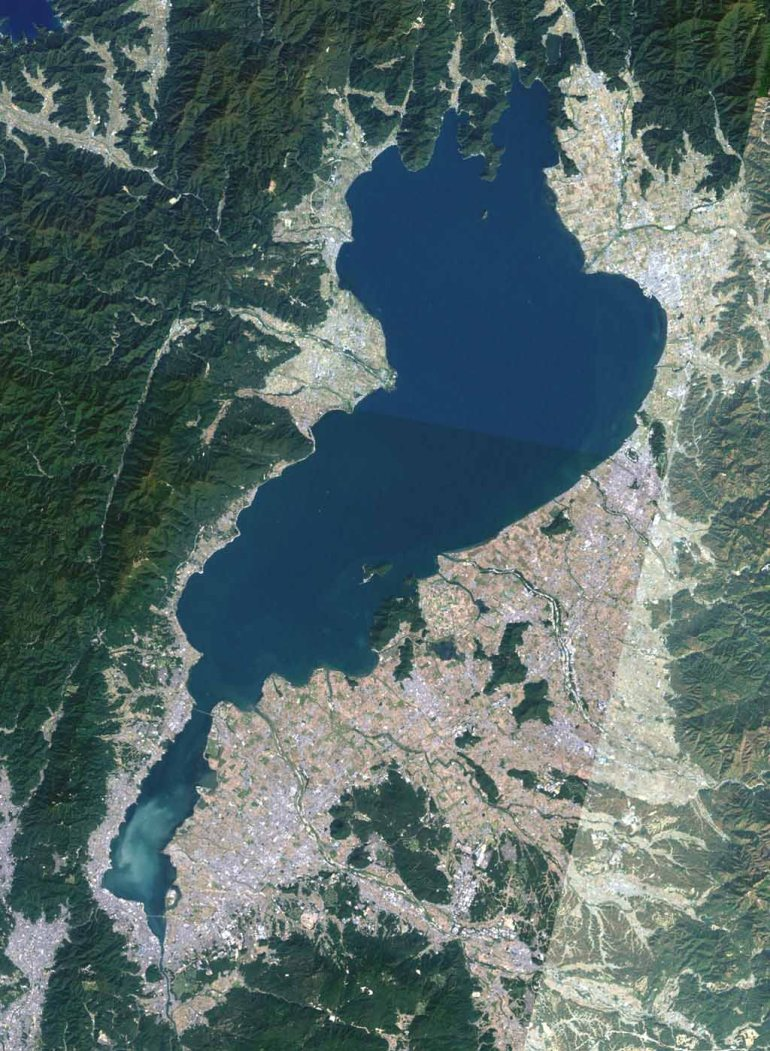 Lake Biwa, Shiga