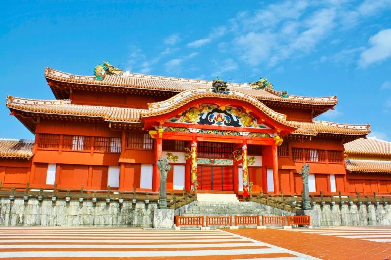 Shuri Castle, Naha, Okinawa
