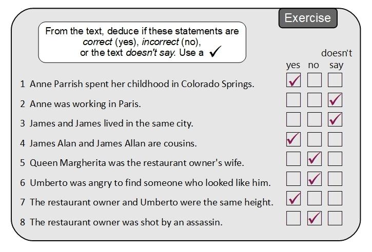 Unit 13 Exercise answer