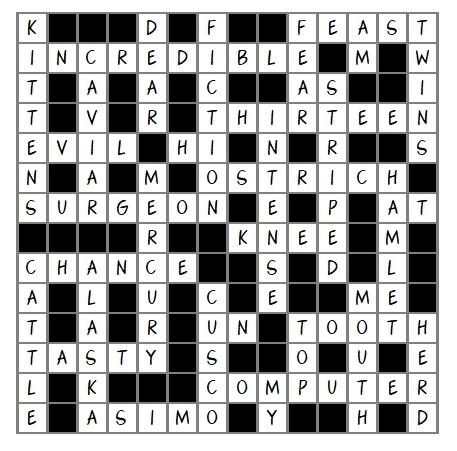 Unit 18 Crossword answer