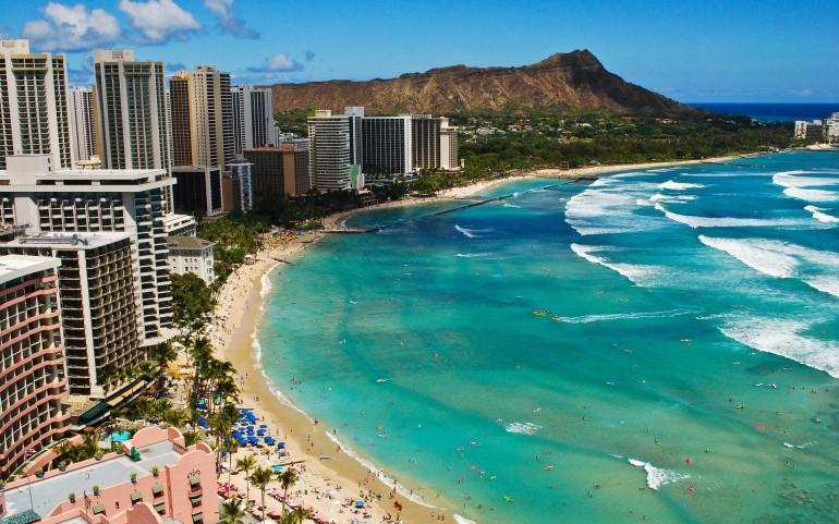 Waikiki, Honolulu, Hawaii, USA