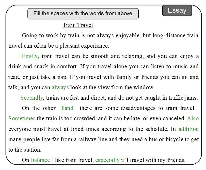 Unit 15 Essay answer