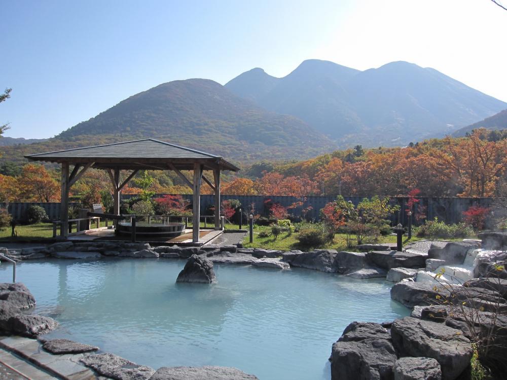 Kokonoe town, Oita, Kyushu, Japan