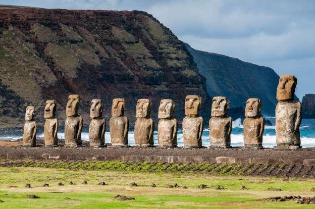 Moai, Easter Island, Chile