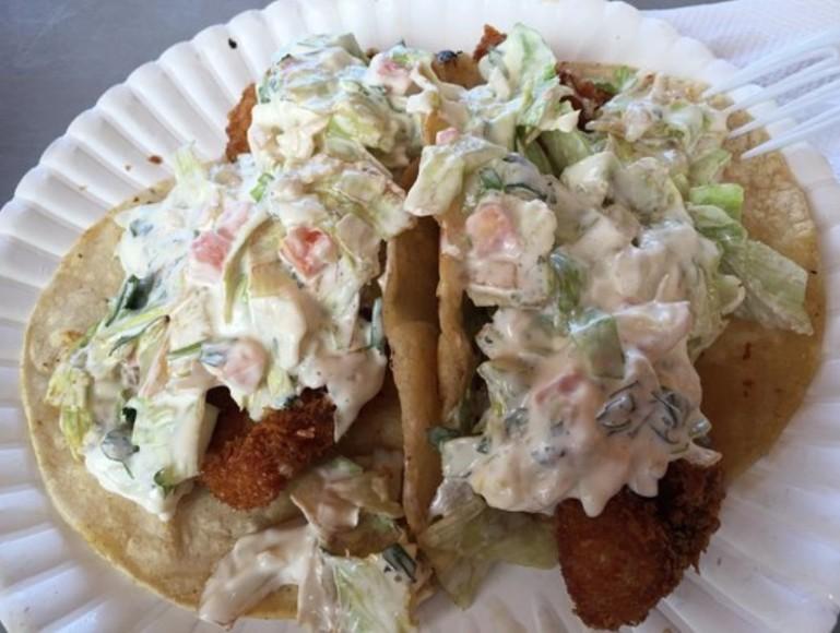 Serg's fish tacos
