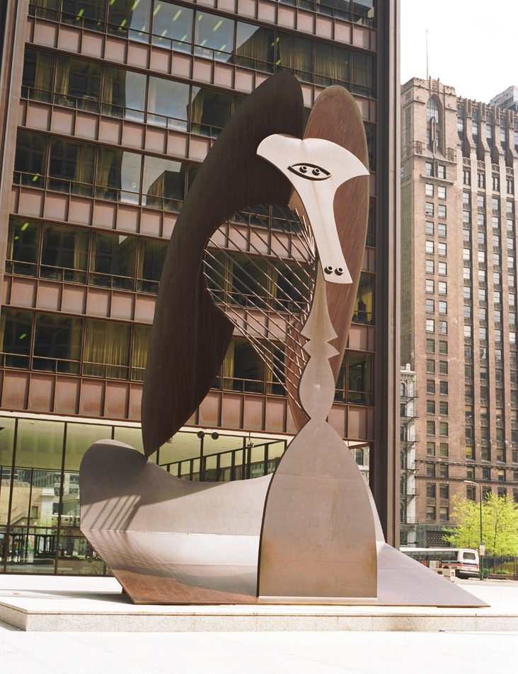 Sculpture by Picasso, 1967, Chicago