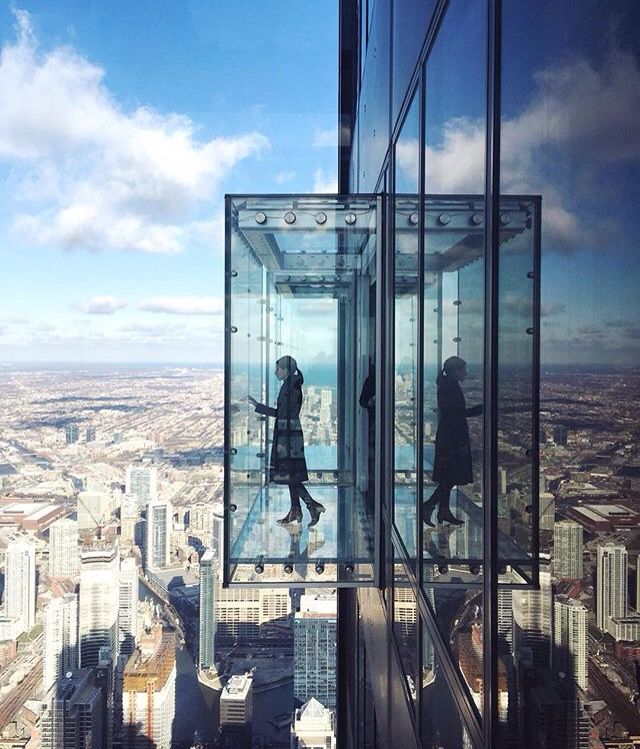 The Ledge, Skydeck, Willis Tower, Chicago, Ill