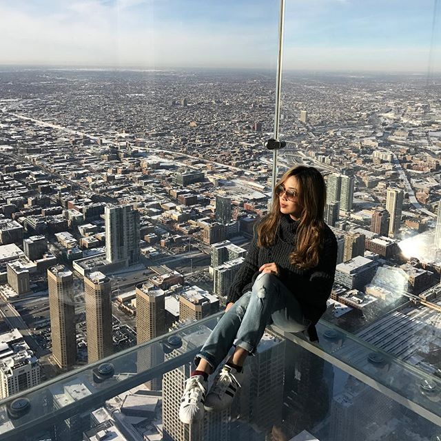 The Ledge, Skydeck, Willis Tower, Chicago