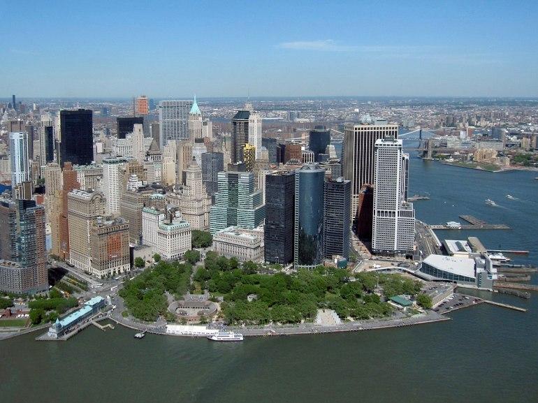 Battery Park, Lower Manhattan, New York