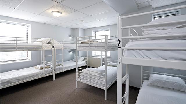 DC Hostel dormitory
