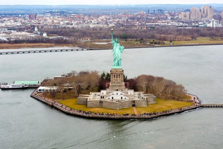 Liberty Island, New York Bay
