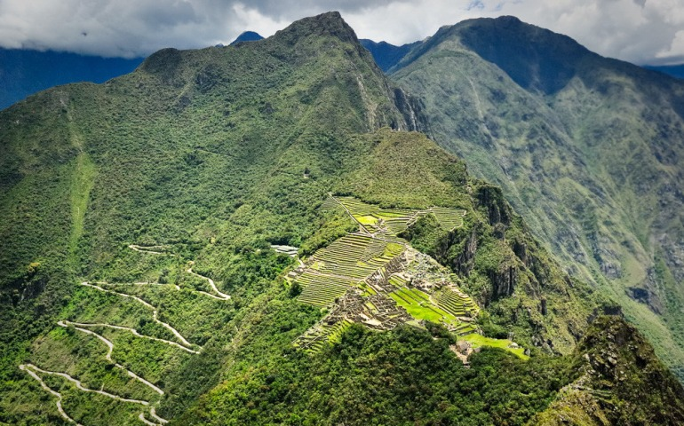 Machu Picchu, view from above