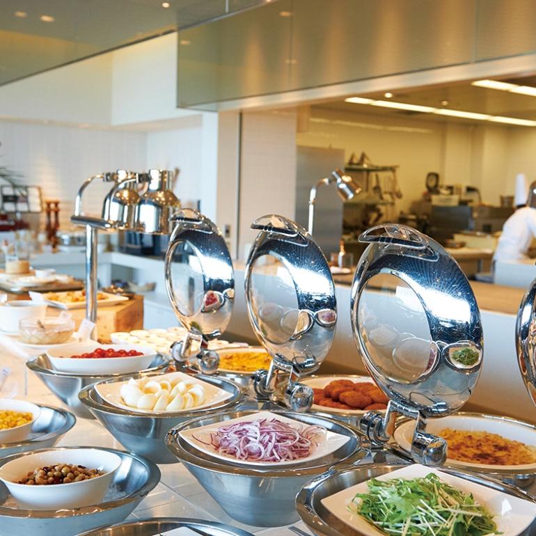 Nihondaira Hotel, buffet lunch
