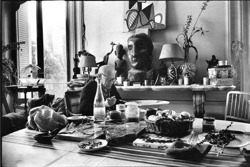 Picasso's lunch