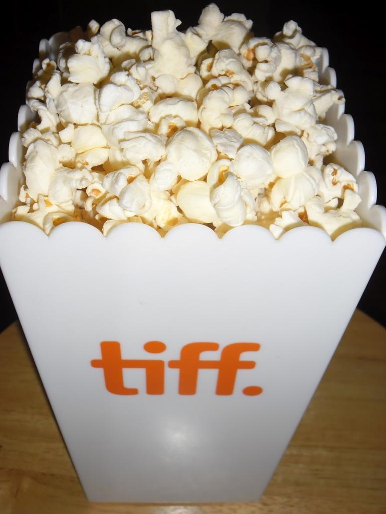 popcorn (from Bell Lightbox, tiff)