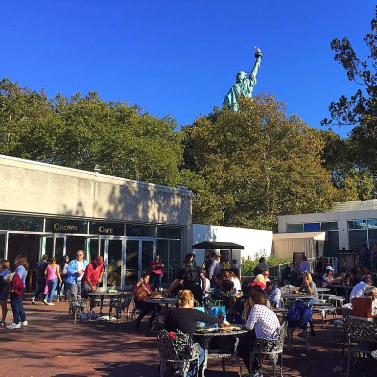 Statue of Liberty Crown Cafe