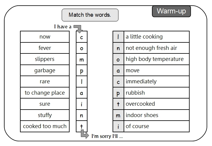 Unit 13 Warm-up answer