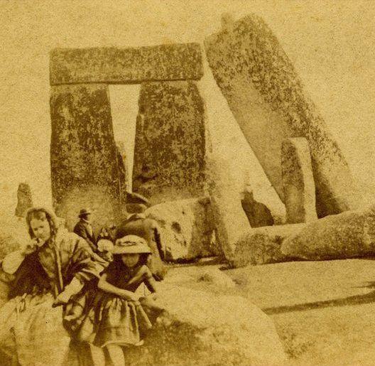 Stonehenge, about 1860
